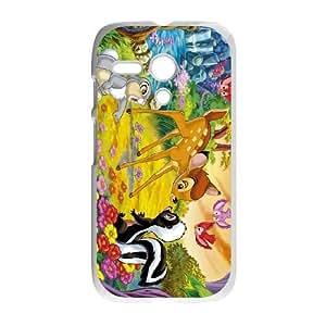 Bambi Motorola G Cell Phone Case White DIY Gift pxf005-3724943
