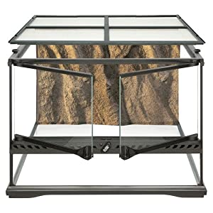 Hagen Exo Terra Short All Glass Terrarium, 18 by 18 by 12-Inch 46