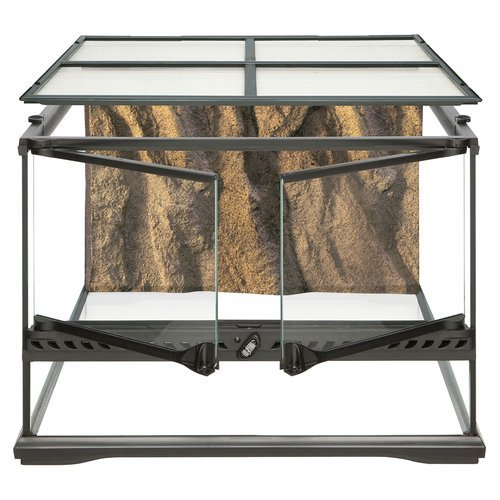 Hagen Exo Terra Short All Glass Terrarium, 18 by 18 by 12-Inch