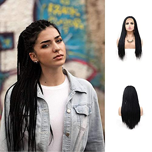 Braid wig with baby hair _image2