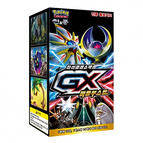 Pokemon Card Game Sun and Moon High Class Pack GX Battle Boost BOX / Korean ver.