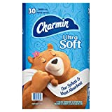 : Charmin Ultra Soft Mega Roll Toilet Paper, Mega, 24 Count