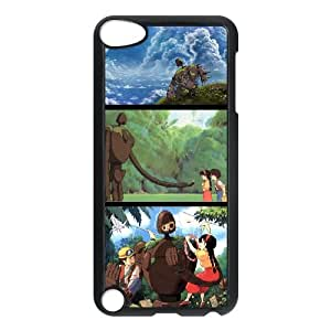 iPod Touch 5 Case Black Castle in the sky CTE 33D Plastic Phone Case