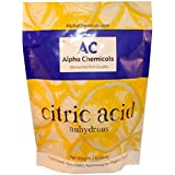 Citric Acid - 1 Pound - Non-GMO Project Verified, Organic, 100% Pure - Great for Bath Bombs