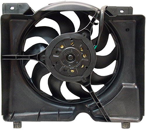 RADIATOR COOLING FAN FOR JEEP FITS CHEROKEE 4.0L 2.5L L4 4 CYL V6 CH3115106