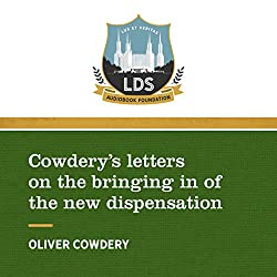Cowderys Letters on the Bringing in of the New Dispensation
