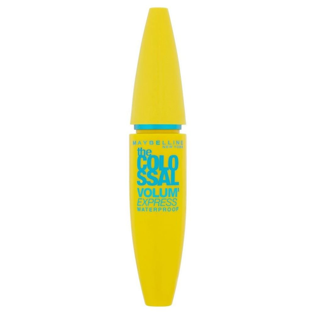 Maybelline The Colossal Volum' Express Waterproof Mascara - Black - Pack of 6