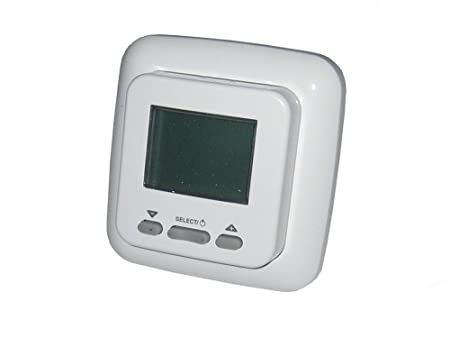 Digital Programmable Electric Floor Heating Thermostat Controller - Heated floor timer