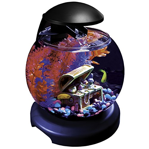 GloFish Waterfall Globe with Blue LEDs, 1.8-Gallon