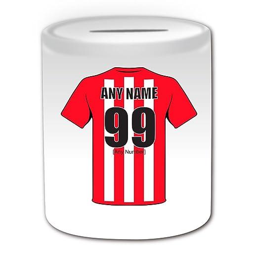De regalo con mensaje personalizado - Hucha Sunderland (de balón ...