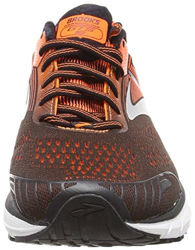 Orange 047 Black Azul de Adrenaline GTS Running para Brooks Zapatillas Ebony Hombre 18 z7vx8Uq