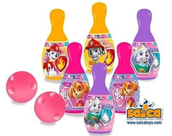 PAW PATROL - Set Bolos plástico (Saica 2201)