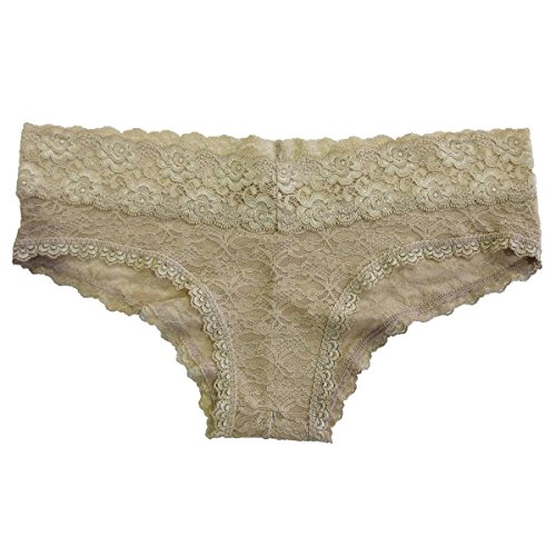 Undie Couture Lace Hipster Panties, Nude
