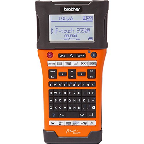 Brother P-Touch-E550W  Hand-Held Labeler (Handheld Maker Label Brother)
