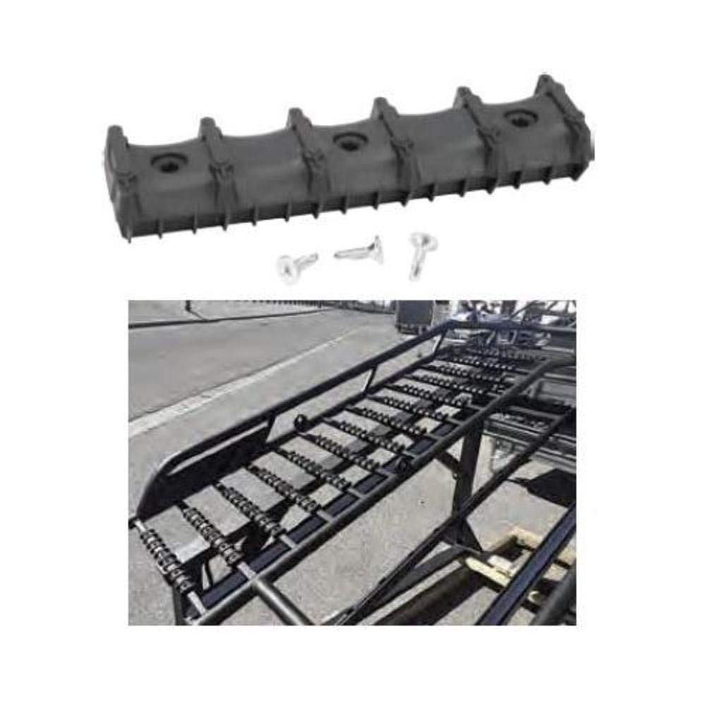 Bowdriks Industries 4051 RAMP-BAR 1-KIT Ramp Crossbar Protector with Traction - Pair (1)