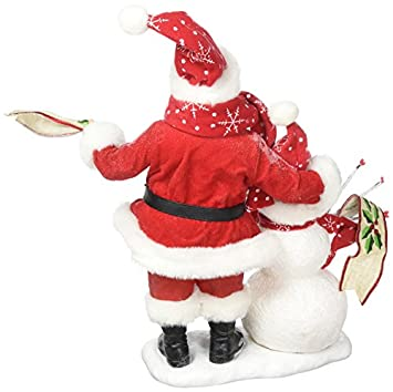 Department 56 Possible Dreams Santa Claus In The Meadow Clothtique Christmas Figurine