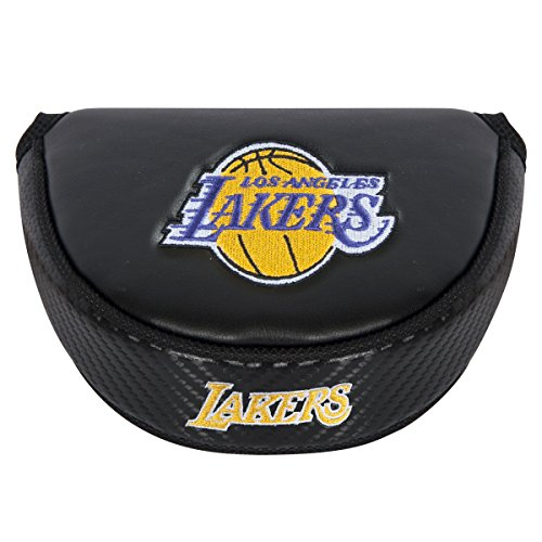 Team Effort NBA Los Angeles Lakers LA Lakers black Mallet Putter Coverblack Mallet Putter Cover, NA by Team Effort