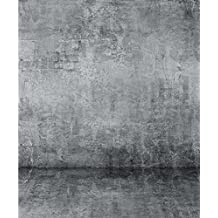 8x10 ft Grey Interior Photo Booth Backdrop Solid Wall and Floor Indoor Background for Photography Studio Seamless Shooting Picture Prop