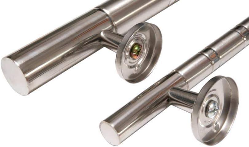 Poign/ée de porte en acier inoxydable 250//270//300//350//400//460 mm Poign/ée de longueur Poign/ée de porte Porte dentr/ée de lh/ôtel Poign/ée de centre commercial dentr/ée 300 mm