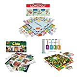 Winning Moves GAMEPACK7 Classic Game Pack - Monopoly The Game of Life and Clue