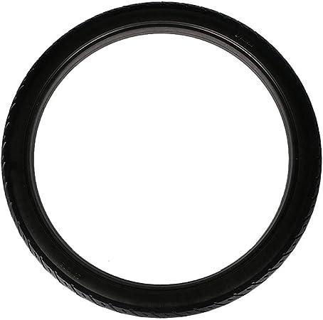 Neumáticos sólidos bicicleta 20 pulgadas, antideslizante Ligero Durable Amortiguación goma Neumático sin cámara inflable Equipo bicicleta, Adecuado para Neumáticos bicicleta carretera engranaje fijo: Amazon.es: Hogar