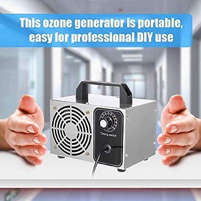 AnJczzo Generador de Ozono, 20g/h Generador Ozono Comercial ...