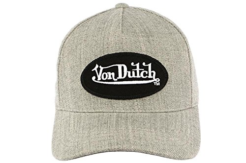 casquettes von dutch bill gris