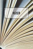 Niger: Ruled Travel Diary Notebook or Journey  Journal - Lined Trip Pocketbook for Men and Women with Lines