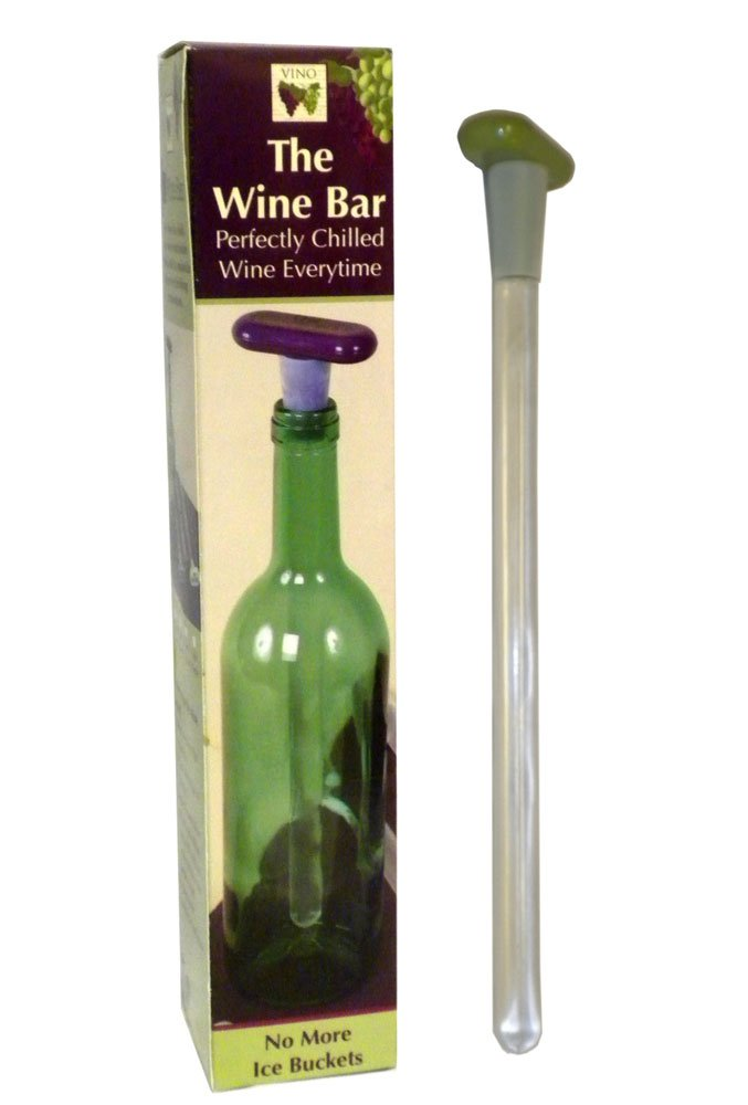 The Wine Bar Chill Rod Wand Barware Keeps Wines Cool Assorted Colors DEI 30195