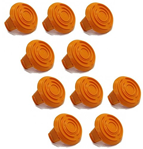 The ROP Shop (10) SPOOL CAP COVERS for WA6531 WORX GT Models WG150 WG151 WG165 WG166 Trimmer by The ROP Shop