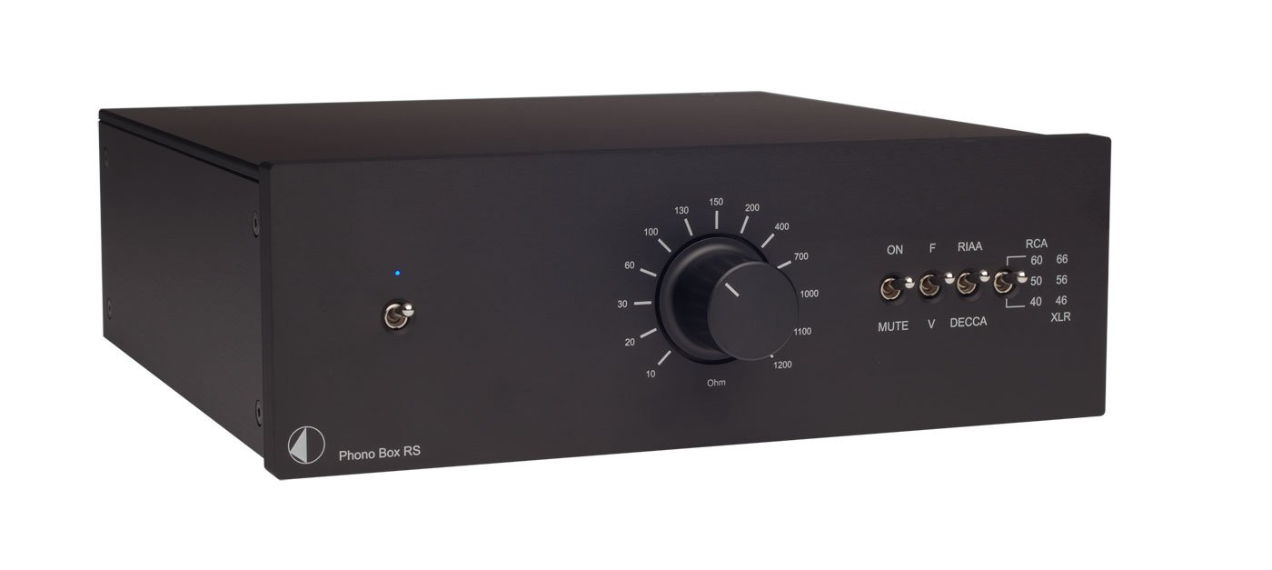 Pro-Ject - Phono Box RS - MM/MC - Phono Preamplifier - Black