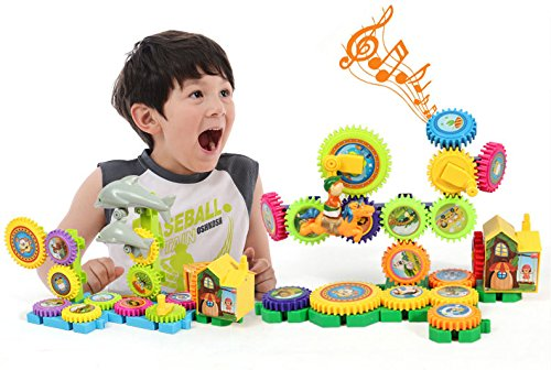 Building Blocks, Gears Toy for Kids and