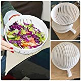 TinyMuse™ 60 Second Vegetable Cutter Bowl Salad Maker Healthy Fresh Salads (Type A)