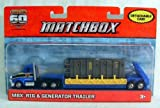Matchbox MBX Rig & Generator Trailer 60th Anniversary
