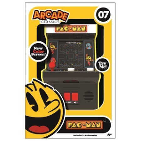 Pac-Man Pacman Arcade Classics Mini Arcade Game with Color Screen