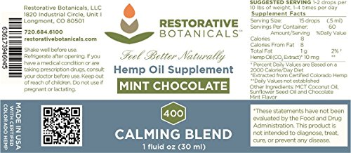 CALMING-BLEND-Hemp-Oil-Infusion-400-mg-Mint-Chocolate-Flavor-1-ounce-30ml-supports-functional-calming-for-stress-relief-relaxation-healthy-sleep-patterns-and-achy-muscles