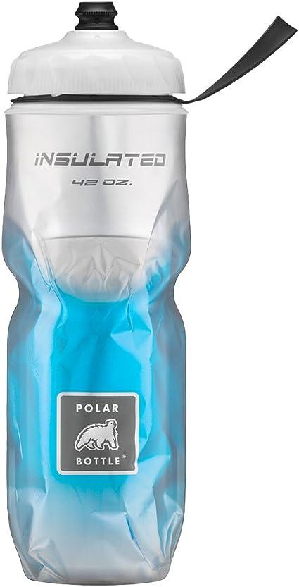 POLAR BOTTLE INSULATED 24oz FADE BLUE WATER BOTTLE