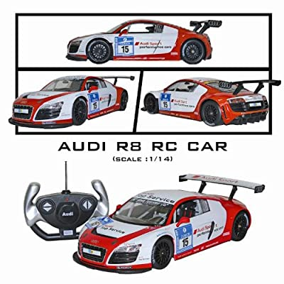 1:14 Remote Control Audi Sport R8 LMS Ready-To-Run (Batteries Included) Performance Car: Toys & Games