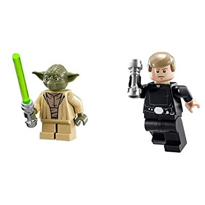 LEGO Star Wars Accessories: Jedi Lot 3 - Luke Skywalker and Yoda: Toys & Games