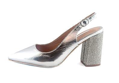 34a3b276102 Buonarotti Women s Court Shoes Silver Silver  Amazon.co.uk  Shoes   Bags