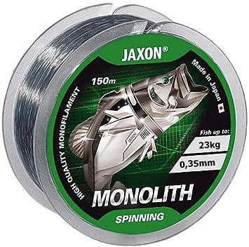 Jaxon Monolith - Sedal de pesca (bobina de 150 m, monofilamento 0 ...