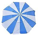 Best Beach Umbrella 8fts - Shadezilla 8 ft Platinum Heavy Duty Beach Umbrella Review
