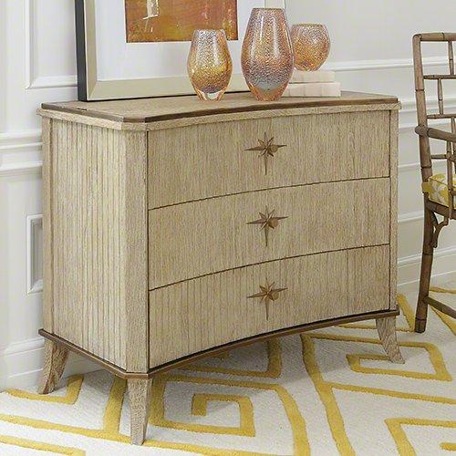 Global Views Klismos 3 Drawer Cabinet, Oversized Item