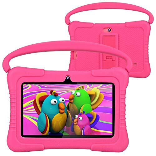 Kids Tablet, Foren-Tek 7 Inch Android 9.0 Tablet for Kids, 2GB +32GB, Kid Mode Pre-Installed, WiFi Android Tablet, Kid…