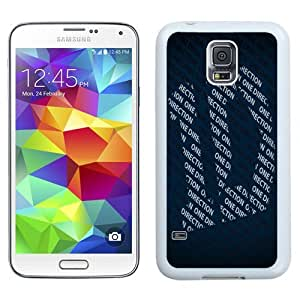 Unique Phone Case One Direction Galaxy S5 Wallpaper in White