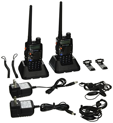BaoFeng UV-5RA Two-Way Radio, Dual band UHF/VHF Ham 136-174/