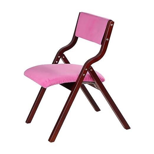 Sillas de Madera para sillas Plegables Silla de Comedor para ...