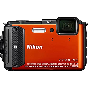 Nikon COOLPIX AW130 Digital Cameras Orange