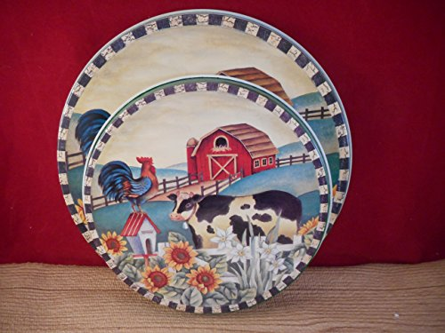- Cow Country Barn Electric Round Burner Covers