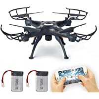 FPV Drone with Live Video Camera, Lamaston X5SW-1 2.4G RC Quadcopter Kits, Phone APP Remote Control Drone Helicopter RC Airplane Toy with Bonus Battery